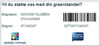 Grasrotandelen Stavanger Hockey 2013 Small