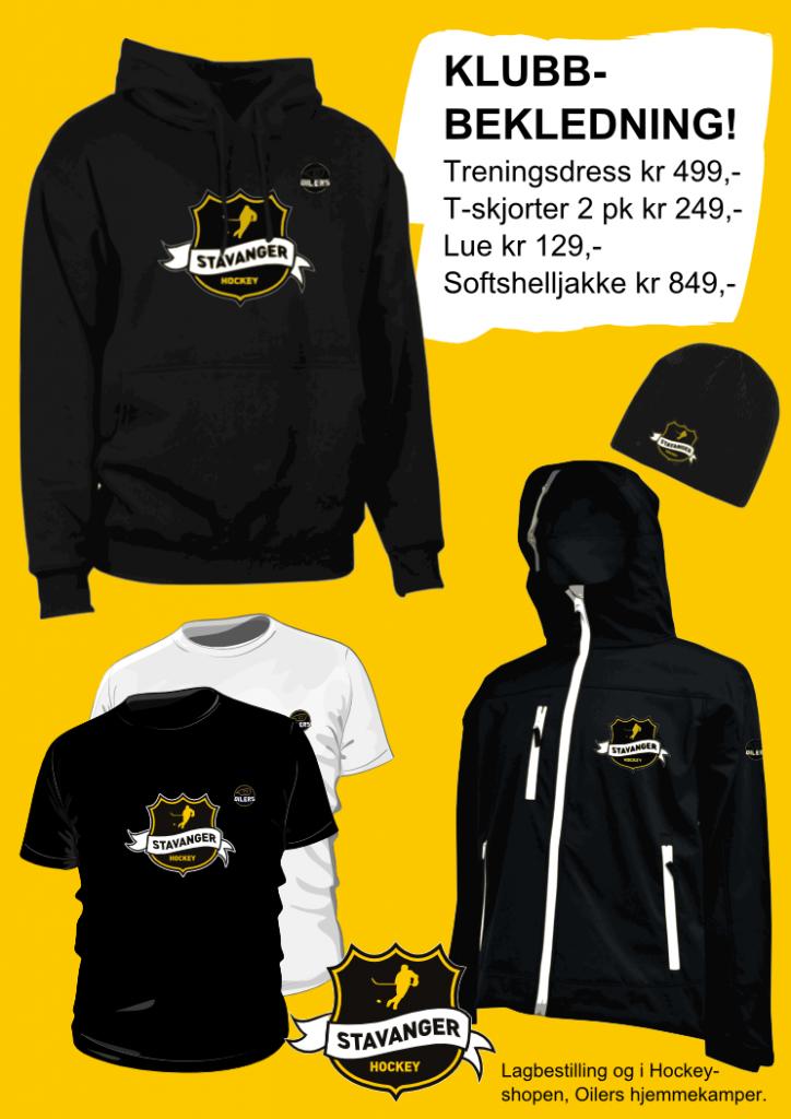 Bekledning Stavanger Hockey