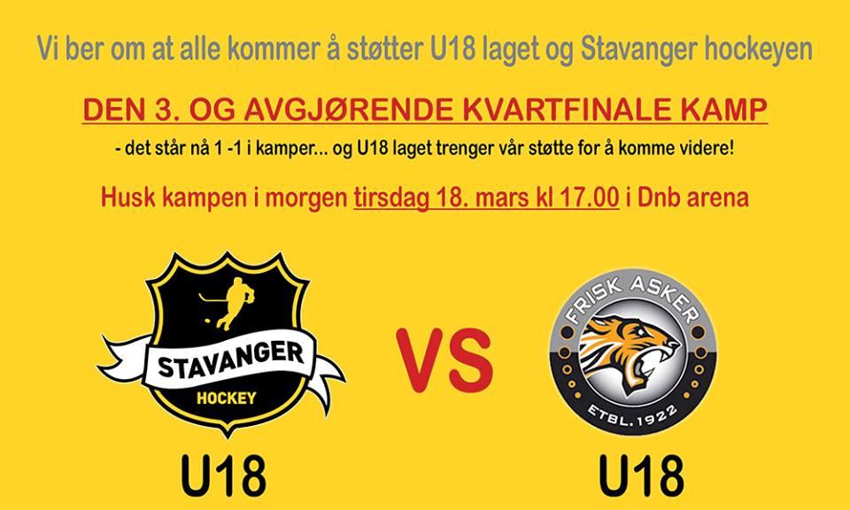 U18 Kvartfinale 3kamp