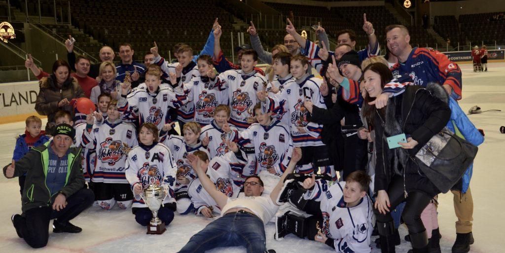 MKS Sokoly Torun, Polen, ble vinner av årets Stavanger Oilers Cup.   Foto: Oilerscup.no