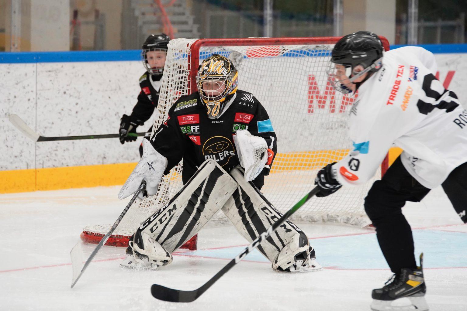 Internkamp Stavanger Hockey Oilers Goalie TradeTech Gnarly intersport Thon SFF BATE GameOn XAIT Solland